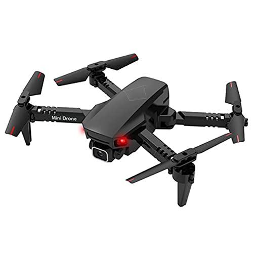 LYHY Fotocamera Singola 4K Drone a Quattro Assi Fotografia Drone Aereo Multifunzione Modello Telecamera per Aereo telecomandata per Bambini, Volo di traiettoria, Sviluppo di Interesse Arancione
