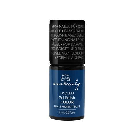 One&Only UV/LED Gel Nail Polish COLOR, Hybrid, Easy Removal 6 ml, Hard & Long Nails Numéro et nom de la couleur, hautement pigmenté, couverture idéale