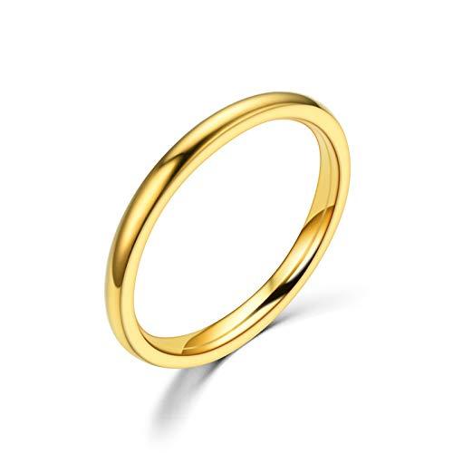 Rings Women, AHAYAHU Design Gift Rings Women [Gold]