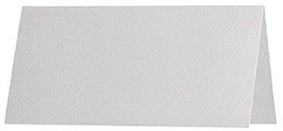 100 stuks // Artoz Serie 1001 premium tafelkaarten, geribbeld // 100 x 90 mm, hoogwaardig, wit
