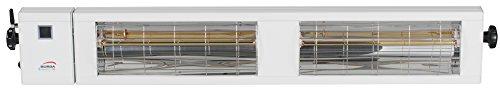 Burda Infrarot Heizstrahler SMART Multi BT IP24 2×1,5kW weiß - 2