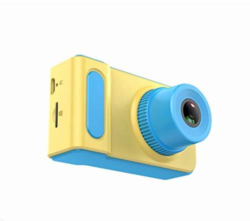 IKOWT [Incluye Tarjeta de Memoria de 16GB] Cámara para niños Cámara fotográfica Infantil Recargable de 8.0 MP con cámara Frontal y Trasera Digital, Regalo de Juguetes para niños y niñas
