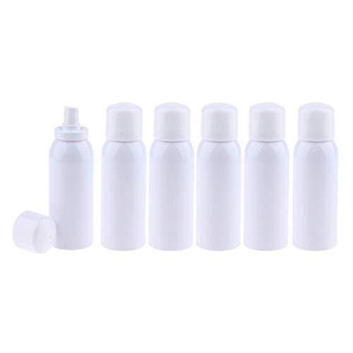 Bonheur 6pcs / Set Leere Atomiser nachfüllbare Pumpspray-Flaschen for Parfüm, Aromatherapie, ätherische Öle, aromatisches Wasser, Düfte, 120/150/200 ml - weiß, 150ml (Size : 150ml)