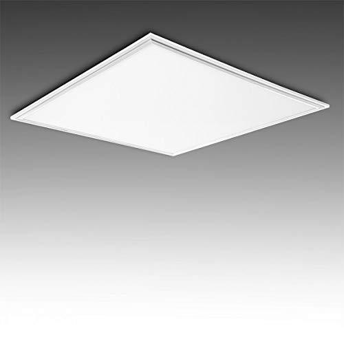 Greenice | Panel LED 595X595X12Mm Marco Blanco 36W 3623Lm 30.000H | Blanco Natural