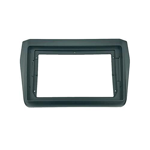 XUNLAN Durable 2 Instalación de Radio de automóvil DIN 9 Pulgadas DVD GPS MP5 PLÁSTICO PLÁSTICO FASTICA Camino Ajuste para Suzuki Swift 2018+ Dash Mount Kit Wearable (Color Name : Only Frame)