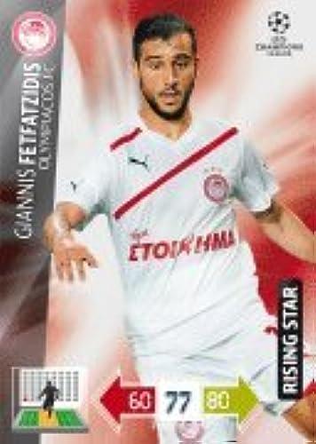 Champions League Adrenalyn XL 2012 2013 Giannis Fetfatzidis 12 13 Rising Star