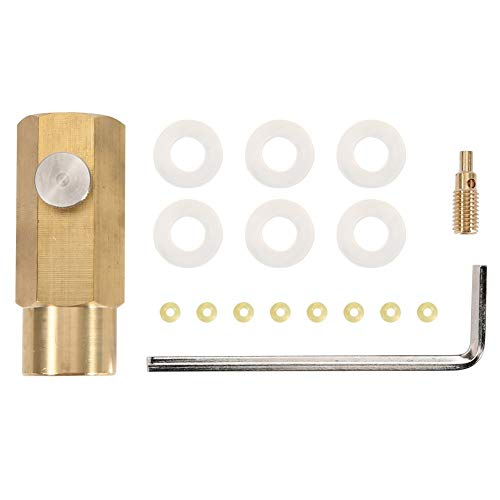 Nikou CO2 Refill Adapter - Flaschenfuellung CO2 Refill Adapter Kit Soda Tank Anschluss for W21.8-14 Ventil CO2 Behälter