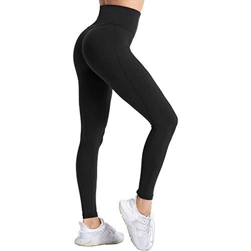 ZARLLE_Pantalones Mujer Largos Pantalon Yoga Leggins Mujer Push up Pantalones Mujer Cintura Alta Deportivas Mujer Running Vientre Plano gluteos Leggins Ropa Sexy Mujer Gym Mujer