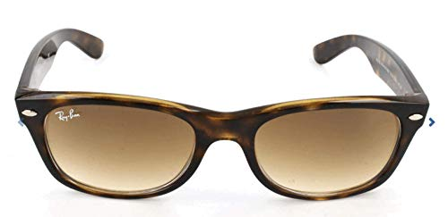 Ray-Ban New Wayfarer, Occhiali da sole, unisex ,Tartaruga, 52 mm