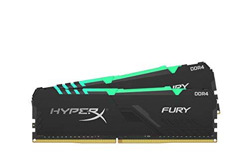 HyperX Fury HX432C16FB3AK2/16 Mémoire RAM DIMM DDR4 16GB (Kit 2x8GB) 3200MHz CL16 1Rx8 RGB