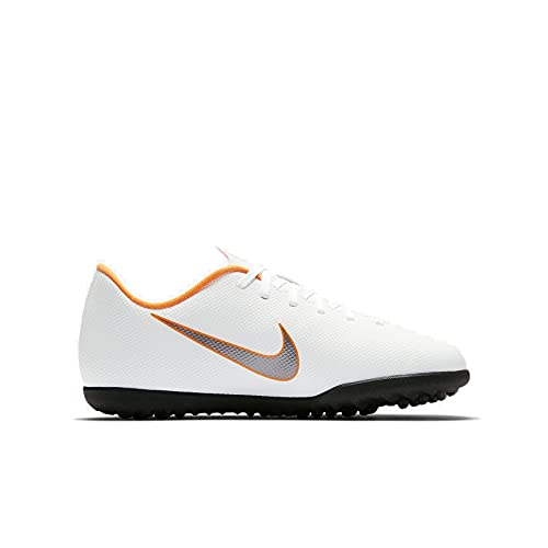 Nike Mercurial Vapor X 12 Club TF Jr Ah7355 1 - Botas de fútbol Unisex, Unisex Adulto, Zapatos de fútbol, B8642*38, Multicolor Indigo 001, 38 EU