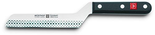 nvedoso design di la impugnatura di speciale texture Facile di reafilar frjado in acciaio inox di una sola pieza (lega di cromo molibdeno e vanadio) hja di una durezza di 58° Rockwell per una maggiore durata del filo ailado con precisione e geometri...