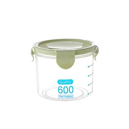 SMX vershouddoos voor levensmiddelen, voor de koelkast, verzegelde container, groot opbergvak, transparant, voor keuken, lade, levensmiddelen, vochtbestendig bewaren