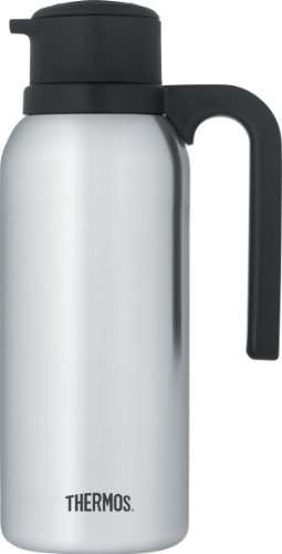 Thermos Vacuum Insulated Stainless Steel Carafe,...