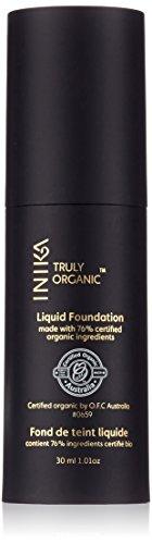 INIKA Certified Organic Liquid Mineral Foundation Cream