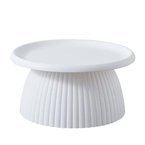 SHUJINGNCE Nordic Net Coeur Rouge Champignon Petit Tea Table Petite Famille Table à thé Nordic Table Basse Basse Salon Table à thé Simple (Color :...