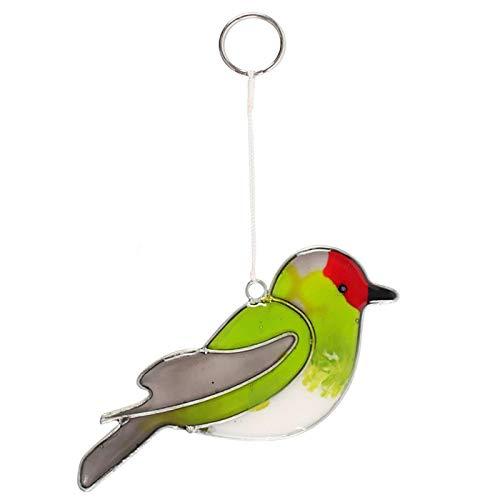 Jones Home & Gift Dekofigur / Mobile zum Aufhängen, Motiv Stiefinch Vogel, bunt