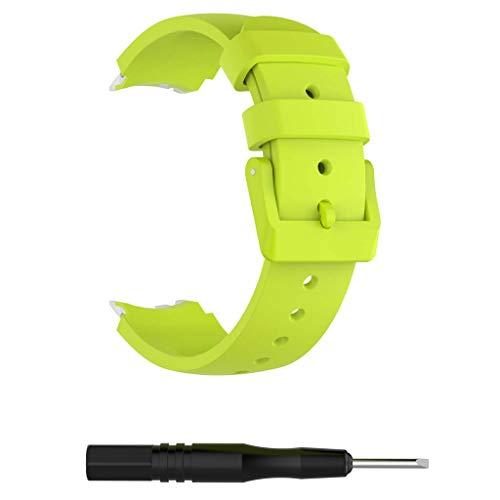 siwetg Siliconen vervangende horlogebandjes armband voor Ticwatch S Smartwatch-Knight