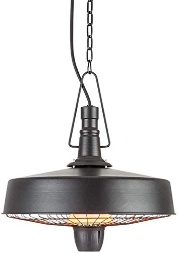 KANGSHENG 2500 W Hanging Radiant Heater,Electric Patio Heater,Easy Control for Outdoor/Indoor Balcony Use