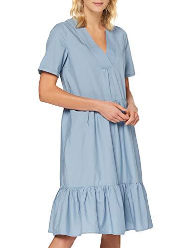 Only ONLKARLA S/S Midi Dress WVN Vestido, Tejido Vaquero, 38 para Mujer