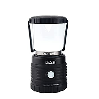 LED Camping Lantern Battery Powered LED Lantern 1000 Lumens Ultra Bright Lantern 4 Light Modes IPX4 Waterproof for Power Outages Camping Hurricane Emergency Light Fishing Hiking and Home