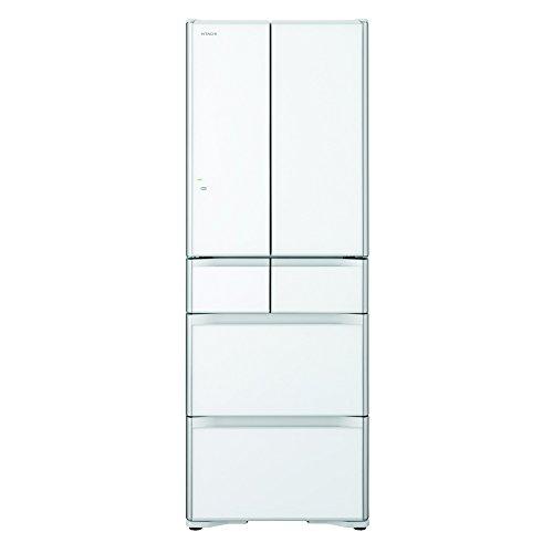 日立 真空チルド 冷蔵庫 プレミアムXGシリーズ 430L クリスタルホワイト R-XG4300G XW