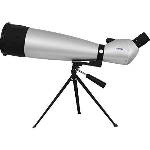 Zoomion Wolf Spotting Scope 33-100x100 para la Caza Deportiva y la observación de Aves - Trípode de Mesa a prueba de salpicaduras Ocular de Zoom