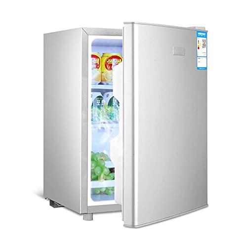SHKUU 29L Refrigerador Independiente Debajo del mostrador Temperatura Ajustable Mini Baja energía Compacto Mesa portátil bajo Ruido Mini para hogar Cocina Oficina
