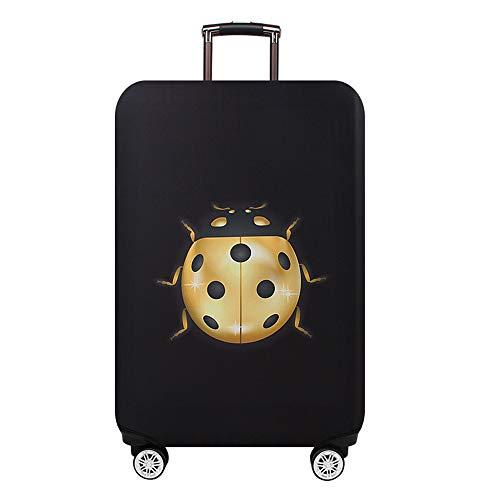 YI'HUI Estuche Protector De Equipaje De Viaje Engrosado Estuche De Viaje Accesorios De Viaje Equipaje Estuche De Equipaje Elástico Adecuado para Maletas De Viaje De 18-32 Pulgadas,Ladybug,L