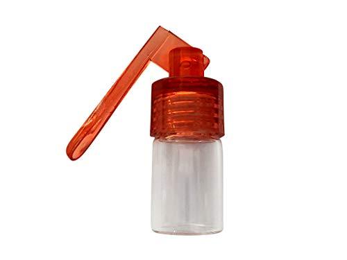 Botella dispensadora con espátula pequeña para tabaco en polvo