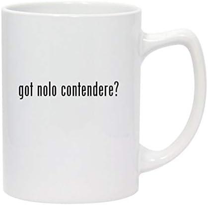 got nolo contendere 14oz White Ceramic Statesman Coffee Mug product image