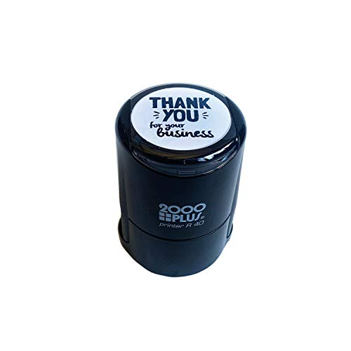 Thank You for Your Business Stamp / 1 5/8' Self Inking Stamp/Small Business Appreciation Stamper