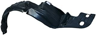 CarPartsDepot, Front Fender Liner Splash Shield Right (Passenger Side) New Replacement, 378-20208-12 HO1249106 74101S84A00