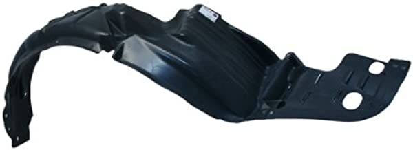 CarPartsDepot 378-44360-11 Front Fender Liner Splash Shield Driver Left Side TO1250108