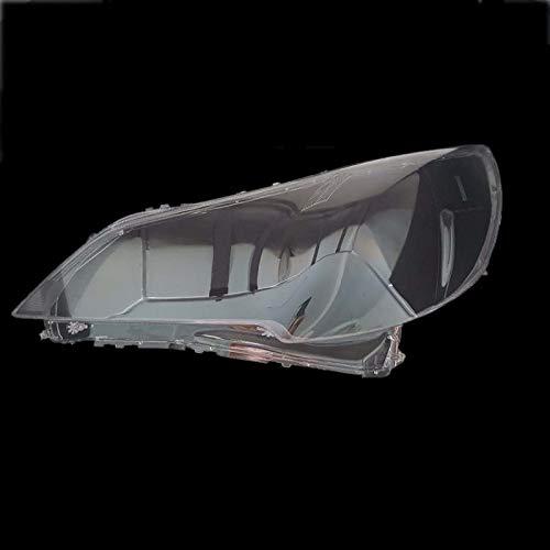 Auto Scheinwerfer Objektivabdeckung Auto-Scheinwerfer-Lampenschirm-Auto-Front Transparent Lampe Shell Masken Scheinwerfer Objektivabdeckung Fit for Subaru Outback Legacy 2010-14 FF