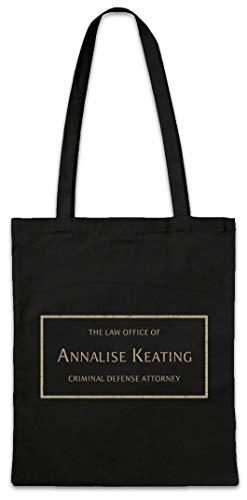 Urban Backwoods Annalise Keating Hipster Bag Beutel Stofftasche Einkaufstasche