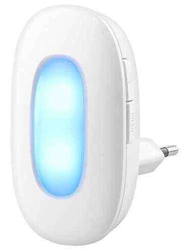 CASAcontrol Zubehör zu Funkklingel mit Licht: Funk-Klingel-Empfänger zur Erweiterung der Funk-Tür-Klingel FTK-110 (Funkklingel für Gehörlose)
