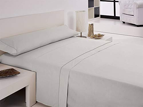 Lanovenanube libela – Parure de lit Vegas lit 90 – Couleur Beige Cama 105 cm Blanc