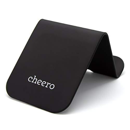 cheero CLIP Plus 万能 クリップ ボード シリコン スマホスタンド タブレットスタンド CHE-330 ブラック
