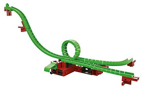 fischertechnik 544620 Looping inkl. Stellweiche ideales KugelbahnErweiterungsset für die fischertechnik Konstruktionsbaukästen der DynamicLinie hier ist konstruieren und experimentieren angesagt