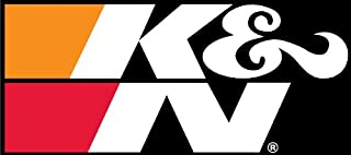 K&N 89-16182-1 Decal with Black Back Large Sticker Racing