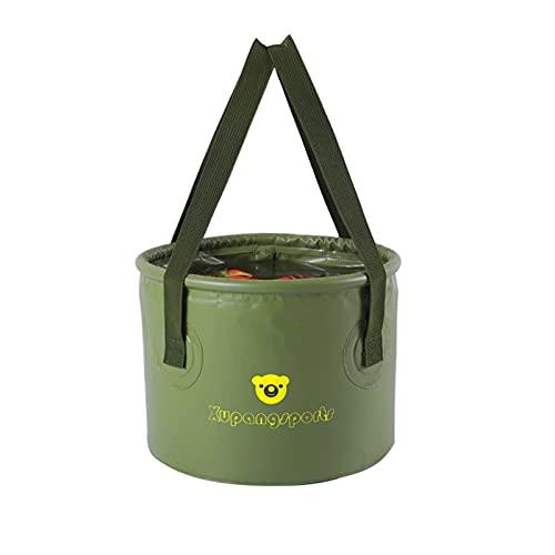 K-Park Cubo de agua plegable – Almacenamiento al aire libre Camping Lavabo...