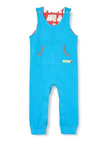 loud + proud Kinder-Unisex Strampler Baby- und Kleinkind-Schlafanzüge, Aqua, 62/68