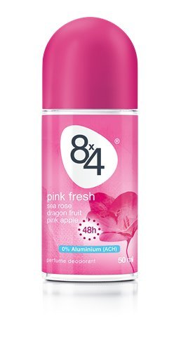 8x4 roll-on deodorant 50ml Pink Fresh