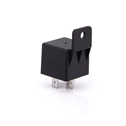 Ehdis Car Relay 4 Pin 12v 40amp Spst Model No.: JD2912-1H-12VDC 40A 14VDC, Auto Switches