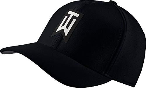 NIKE Unisex AeroBill TW Classic99 Golf Hat Gorra de béisbol, Negro (Negro 010), One Size (Tamaño del Fabricante:S/M) para Hombre
