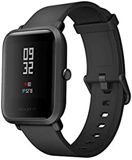Xiaomi Amazfit Bip Bluetooth Nabız Gps Akıllı Saat Global Ios Ve Android Uyumlu, Siyah