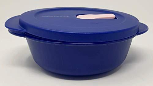 Tupperware Mikrowelle Crystalwave Mikro-Fix 600ml blau Schüssel mit Deckel Premeal Gefriertruhe Büro