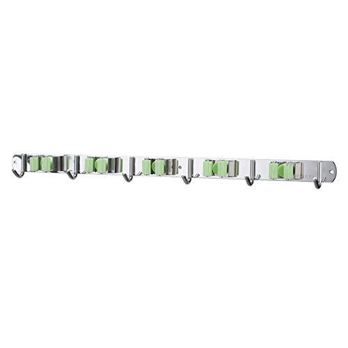 Besenhalterung Wand, 304 -Mopp Und Besen-Halter-Wand Befestigte Speicher-Organisator Werkzeug Für Pinsel Mopp Und Besen Werkzeugaufbewahrung Für Küche