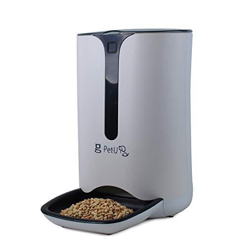USDREAM 7L alimentador automático Inteligente para Mascotas, Gatos y Perros, dispensador automático de Alimentos, con grabadora de Voz y Temporizador programable